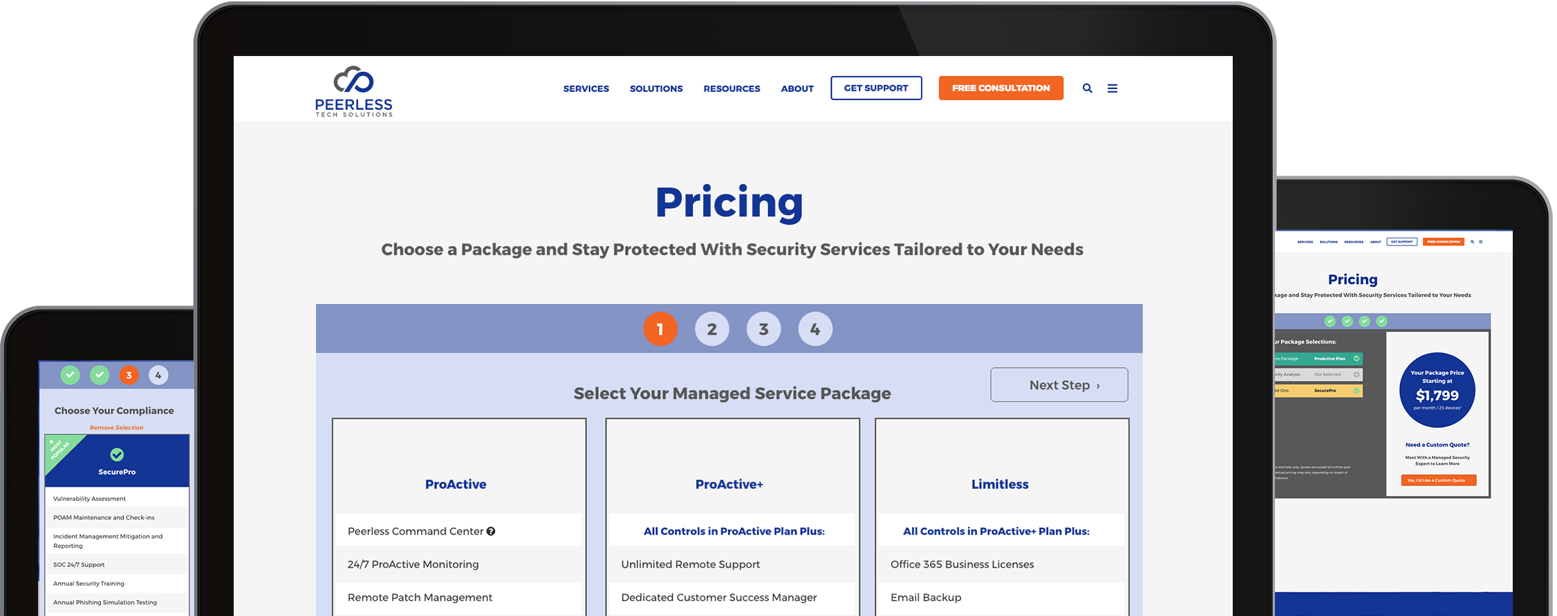 Package Pricing | Peerless Tech Solutions